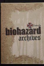 JAPAN Capcom: Resident Evil / biohazard archives (Book)
