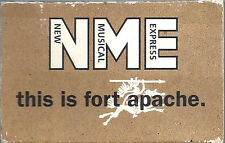NME THIS IS FORT APACHE BELLY HATFIELD PROMO SAMPLER CASSETTE MCA FA1 Alt. Indie