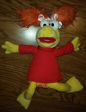 Jim Henson's Fraggle Rock Red Muppet Stuffed Animal Plush Toy
