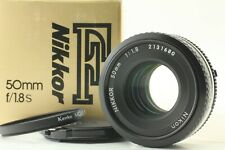 【 App MINT BOXED 】 NIkon Nikkor Ai-s 50mm f/1.8 Pancake AIS Prim Lens From JAPAN