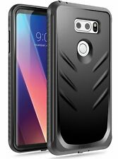 Poetic For LG V30 Rugged Case [Revolution Series] Full-Body  Heavy Duty Cover BK