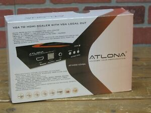 Atlona AT-HD510VGA  PC/Component to HDMI Scaler W/ Local PC/Component Output