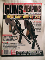 GUNS & WEAPONS FOR LAW ENFORCEMENT MAGAZINE~ FEB 1999 ~ NEW STEYR AUG-A2 .223