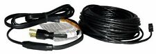 120V With Thermostat Heat Roof Gutter De-icing Ice Snow Melter Cable Kit -100ft