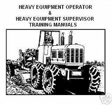 Heavy Equipment Operator - Training Manuals on CD