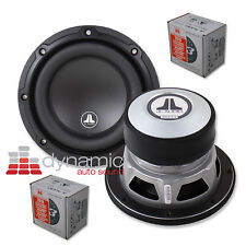 "2 JL AUDIO 6W3v3 Car Stereo 6-1/2"" Subwoofers 6W3v3-4 Subs 4-Ohm 200W Pair New"
