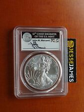 2017 SILVER EAGLE PCGS MS70 MERCANTI FIRST DAY OF ISSUE FDOI 1 OF 1,000 LABEL