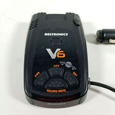 Beltronics Vector V6  Radar and Laser Detector for Vehicle - Tested Works