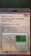 Lux TX100E 7-Day Or 5/2-Day Programmable Or Non-Programmable Thermostat
