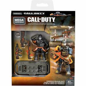 MEGA Construx - Call of Duty Construction Set - FIREBREAK WEAPON CRATE (40 Pcs)