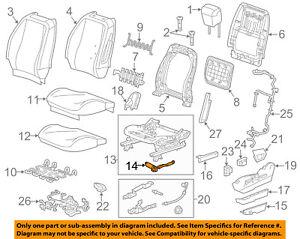 GM OEM Driver Seat-Adjust Motor 13578632