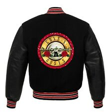 Guns N Roses varsity Or satin jacket all sizes