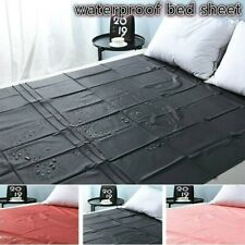 Warm Soft Waterproof Bed Fitted Sheet Bed Cover Protector Bed Pad Bedsheets King