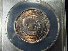 1952 Washington-Carver Commemorative Half Dollar ANACS MS63 (951) TONED!!