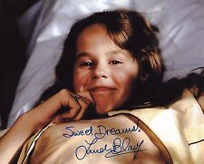 Linda Blair Signed 8x10 Photo - REAGAN from The Exorcist - RARE IMAGE! H316