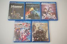 Lot of 5 Playstation PS Vita Games Home Velocity 7'scarlet Fallen Legion SEALED
