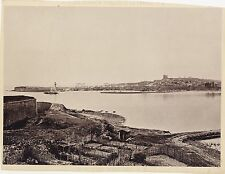 Port d'Antibes France Photo Walburg de Bray Photomécanique Collotypie