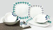 Service de table porcelaine à café salle à manger 28 pièces veste Elmas TK-981
