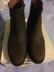 RUSSELL & BROMLEY Waxed NUBUCK Ranger BOOTS UK 8 PAID £99.50 EUR 42 WORN TWICE