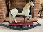 Jacques - carousel type rocking horse on wheels and rockers - FREE DELIVERY