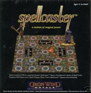 Spellcaster contest magical power game MINT 54MM Fantasy miniatures IWM