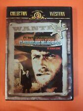 DVD ET POUR QUELQUES DOLLARS DE PLUS de Sergio Leon - Eastwood Western - Yooplay
