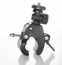 Support camera Velo Fixation rapide Guidon Sony HDR FDR Pince Attache cadre Mtb