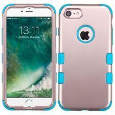 Étuis, housses et coques bleu métallique iPhone 7 pour téléphone mobile et assistant personnel (PDA)