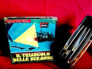 IL TRIANGOLO DELLE BERMUDE FILM SUPER 8 (5 Bobine da 180m) 1978 GLORIA GUIDA