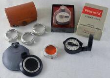 Polaroid Closeup Camera Accesory Kit rollfilm 150 160 800 900 ND filter timer