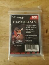 Ultra Pro Penny Card Sleeves 100 Pack Sports, Trading Gaming Standard size