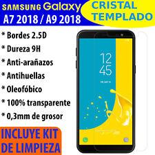 Cristal Templado Protector De Pantalla Para Samsung Galaxy A7 2018 / A9 2018