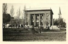 1950s? Real Photo Postcard; Pancevo, Vojvodina, Serbia, Geological Tech Inst.