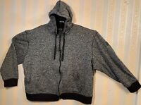 SOUTHPOLE MEN'S PULLOVER HOODIE MARLED BLACK SIZE 5XB Big & Tall EXCELLENT