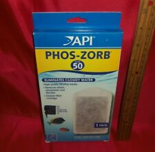 API PHOS ZORB Internal Filter Cartridges Size 50 Aquariums Fish Tank