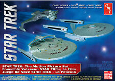 Star Trek Motion Picture Set Kit AMT 2015 Enterprise/ Reliant /Klingon Cruiser