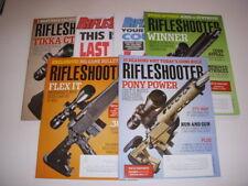 RIFLESHOOTER Magazine, LOT OF 6, 2014, COLT M2012, MOSSBERG MVP FLEX, STAG 3T-M!
