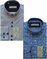Designer CAVANI Stylish Formal Slim Fit Dress Shirt Long Sleeved S - XXL