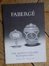 Brochure de l'exposition FABERGE à Buckingham Palace Mars 1995- Janvier 1996