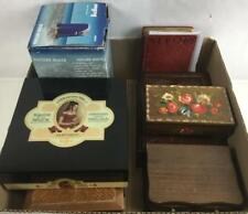 La Flor De Jose Suarez Black Cedar Cigar Box Lot 3259