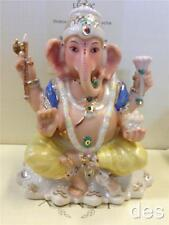 Lenox ~  Hindu Good Luck God LORD GANESH Figurine Sculpture  Elephant Head NIB
