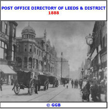 POST OFFICE DIRECTORY OF LEEDS & DISTRICT 1888 CD ROM