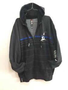 Metal Mulisha Mens Zip Fleece Hoodie Large Make Sweatshirt Jumper Jacket Size L