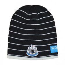 NEWCASTLE UTD Mens Black & White Puma Football Leisure Beanie Hat One Size BNWT