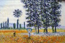 """Claude Monet  Repro  Oil Painting - Fields-in-Spring  Size:36""""x24"""""""
