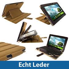 Braun Leder Keyboard Tasche für Asus Transformer Pad TF700 TF700T Infinity