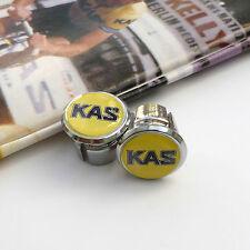 Vintage 80s KAS Team, Vitus, Sean Kelly, Chrome Racing Bar Plugs, Caps, Repro