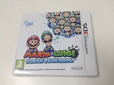 MARIO & LUIGI DREAM TEAM BROS.  . Pal España..Envio Certificado..Paypal