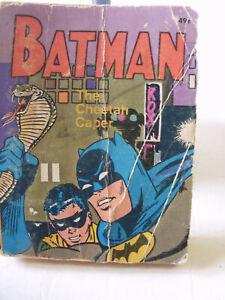 BATMAN, LASSIE, BUGS BUNNY , BIG LITTLE BOOKS LOT of (3) books,1960's