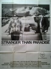 Stranger Than Paradise (1984) | French Import Filmplakat Poster XL 116x156 cm